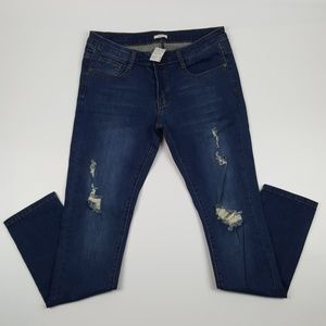 Jazz Jeans - Distressed Skinny Jeans {Jazz}